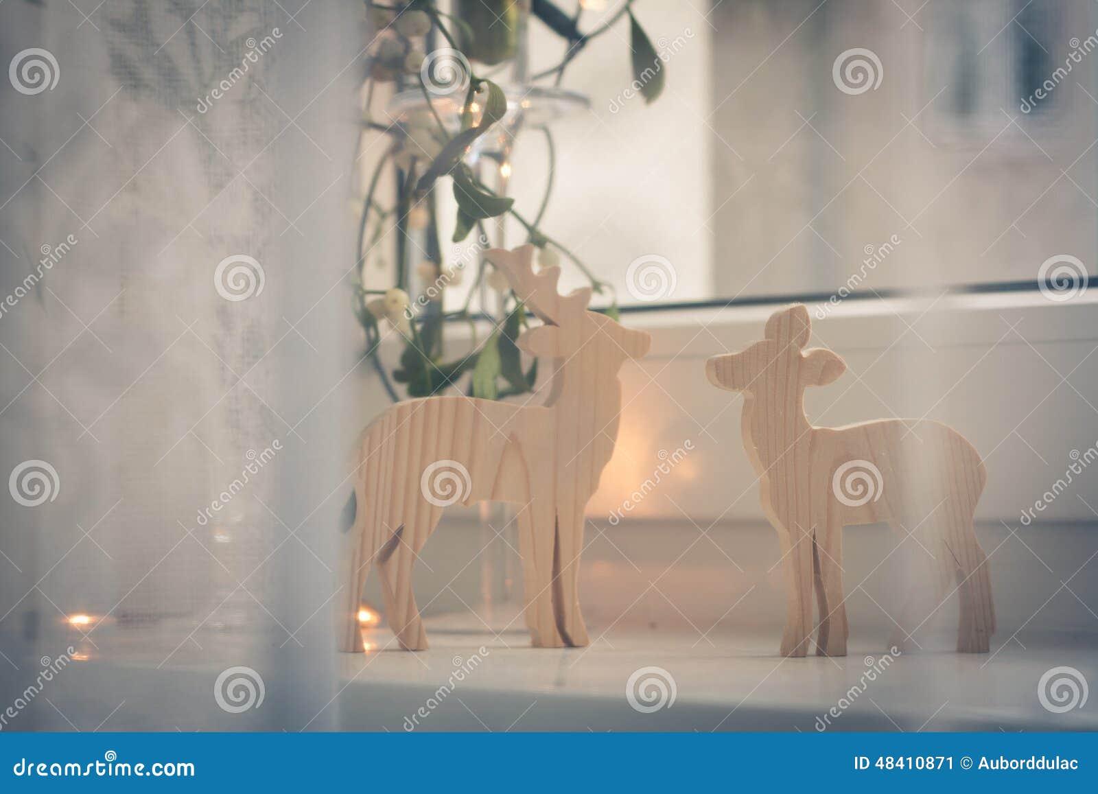 Twig Lamp Christmas Background Stock Photo Image 48410871