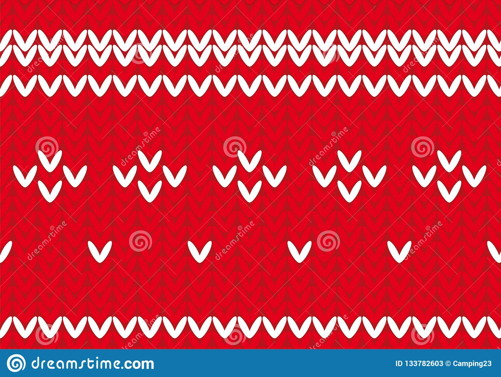 Christmas Sweater Background.Christmas Sweater Background Vector Stock Illustration