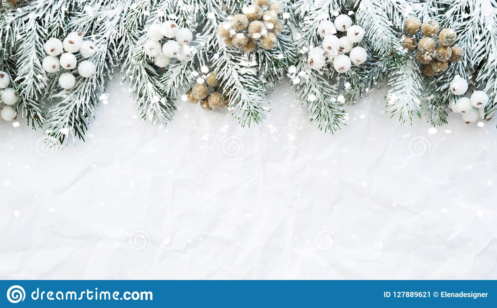 christmas background with xmas tree on white creased background merry christmas greeting card frame banner stock image image of decoration flat 127889621 https www dreamstime com christmas background xmas tree white creased merry greeting card frame banner winter holiday theme happy new year space image127889621