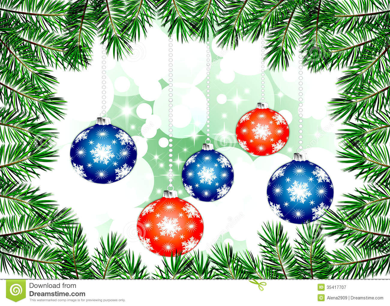 Christmas Backgrounds Illustration Royalty Free Stock
