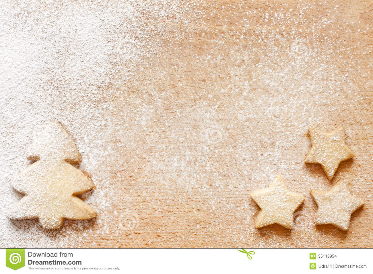 christmas baking background with - photo #8