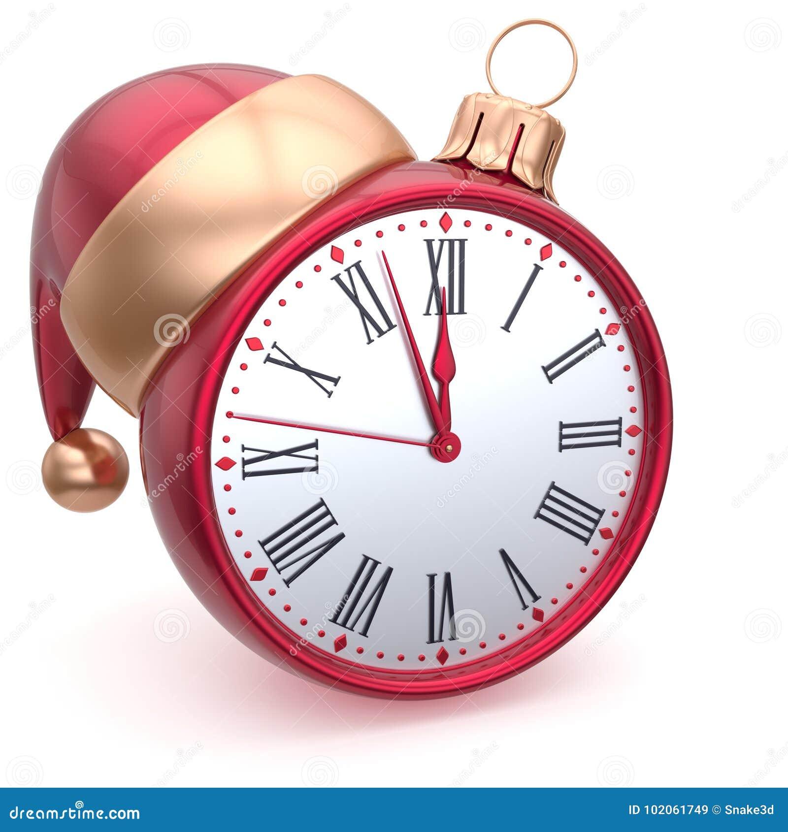 Christmas Ball Alarm Clock New Years Eve Decoration ...