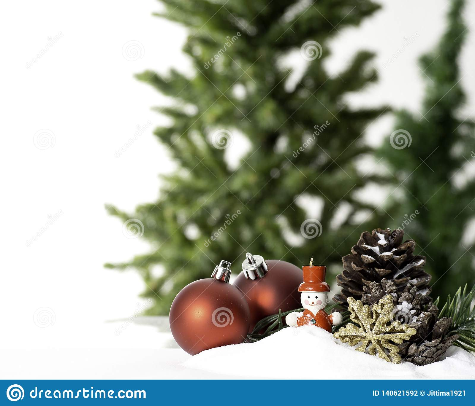 Christmas ball decoration bauble closeup New Year`s