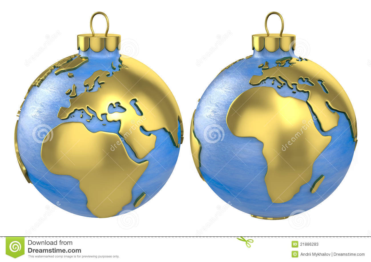 World globe christmas ornaments - World Globe Christmas Ornaments World Globe Christmas Ornaments Christmas Ball Globe Europe And Africa Stock