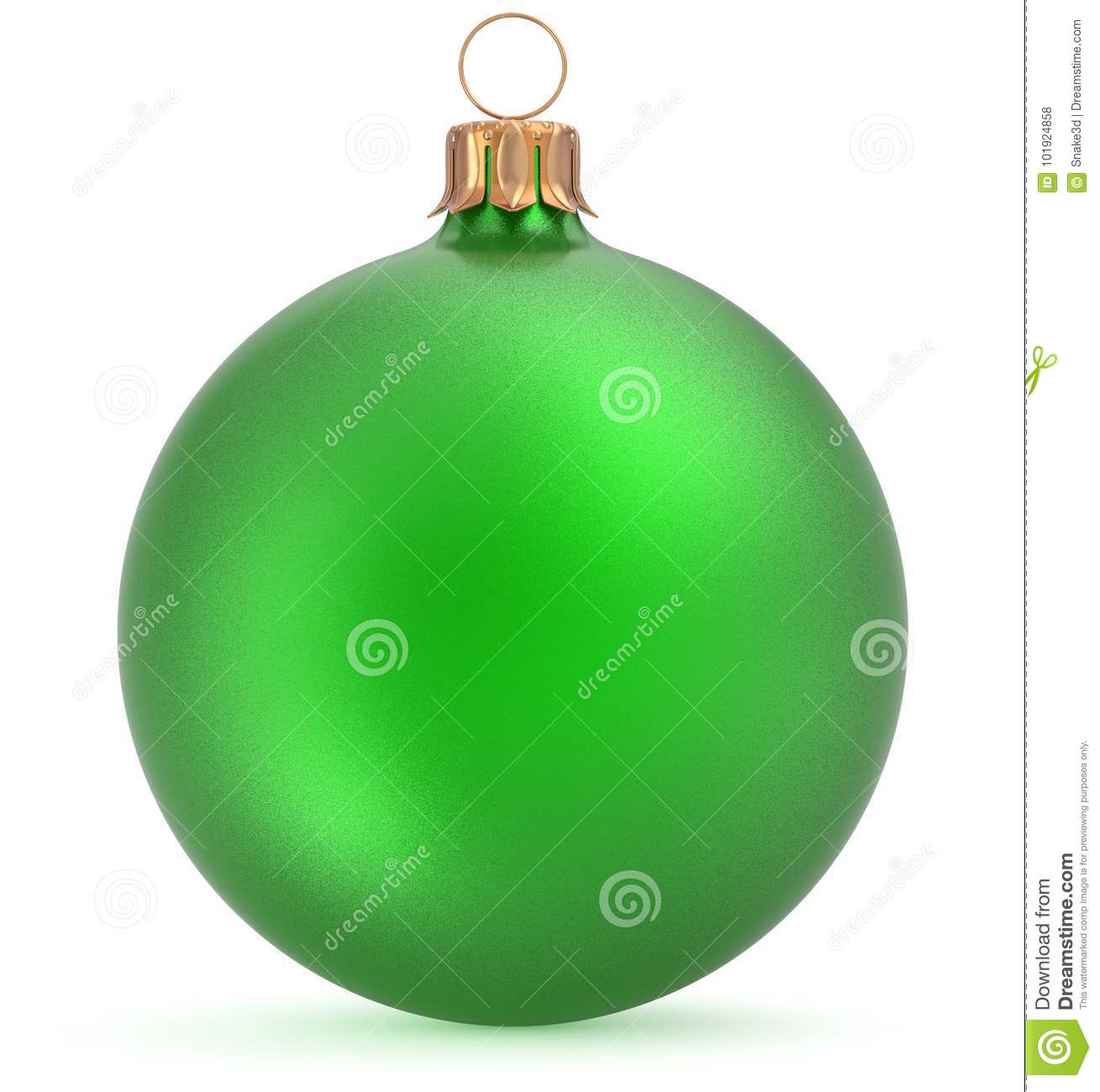 Christmas Ball Green New Year`s Eve Decoration Hanging ...