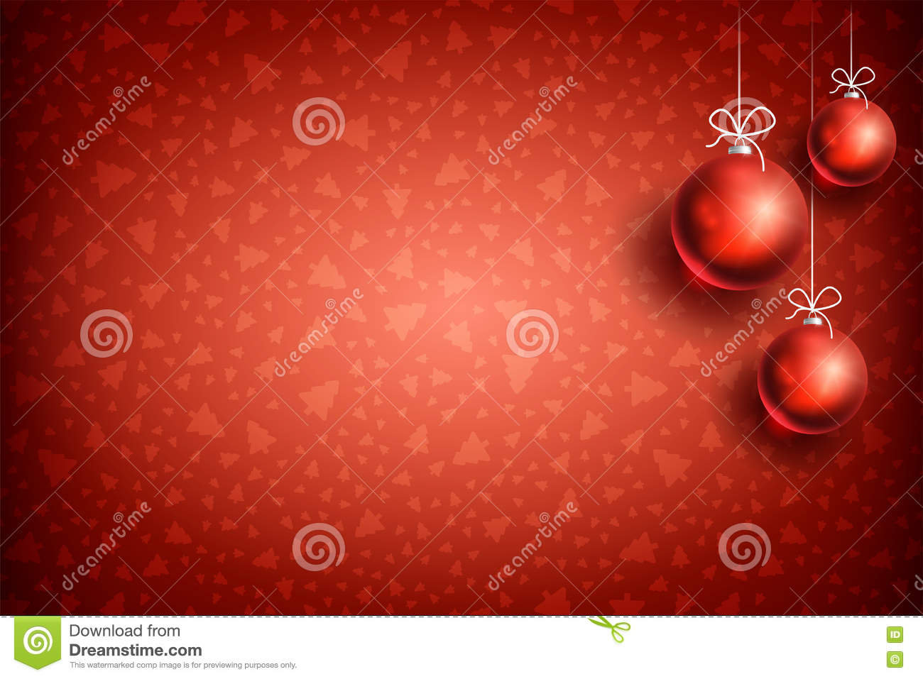 Download Christmas Ball Ornament Background 04 Stock Vector