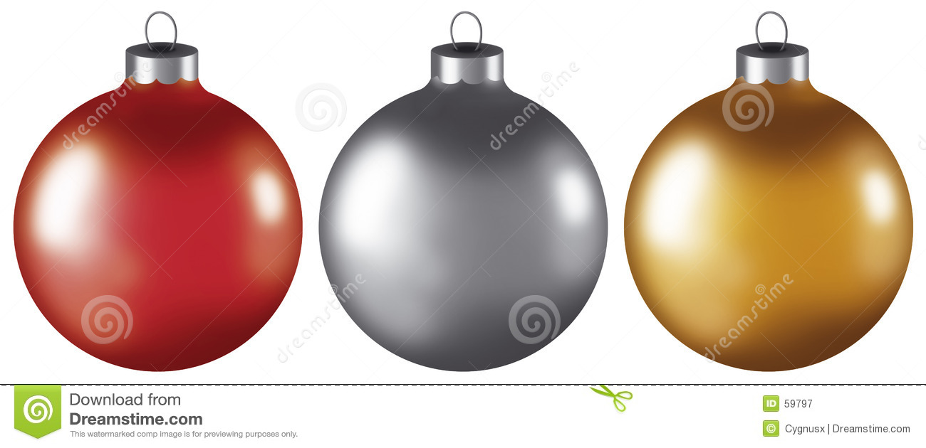 Christmas Ball Ornaments Royalty Free Stock Photography - Image: 59797