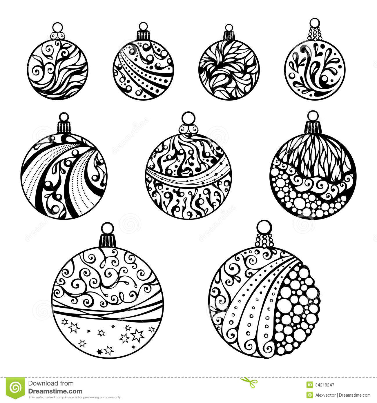 Displaying 17> Images For - Round Christmas Ornament Template...