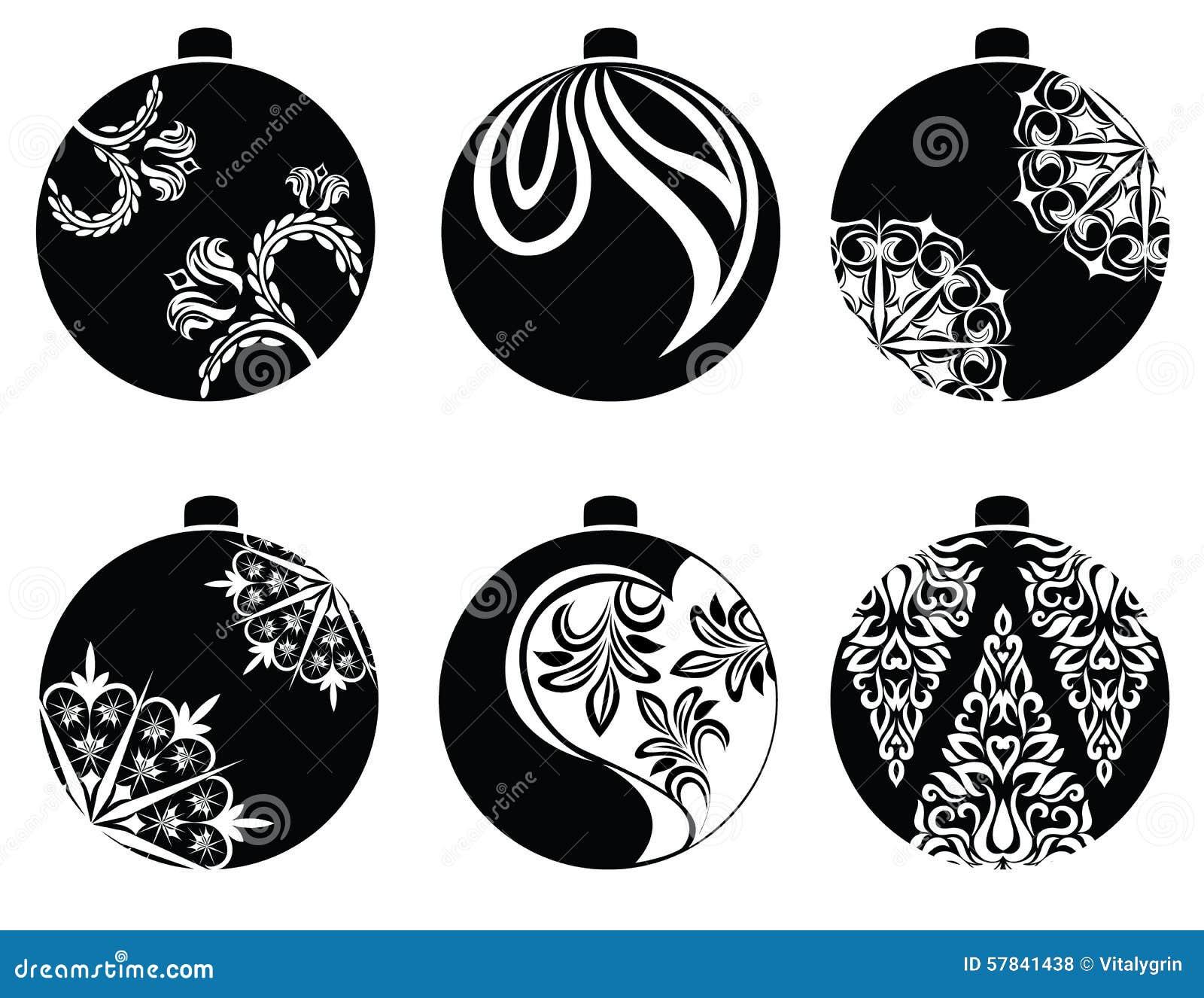 Christmas Balls Vector Stock Vector - Image: 57841438