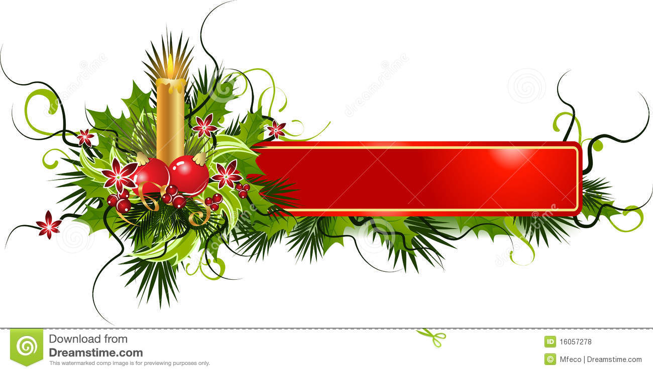 Christmas Banner Royalty Free Stock Photos - Image: 16057278