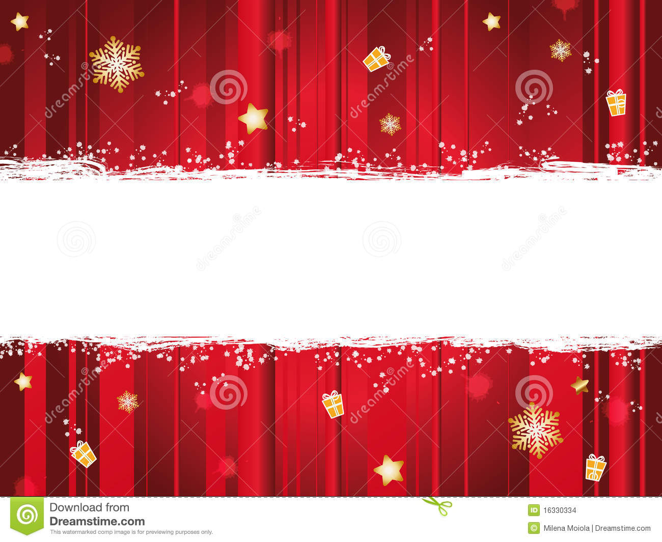 Christmas Banner Stock Images - Image: 16330334