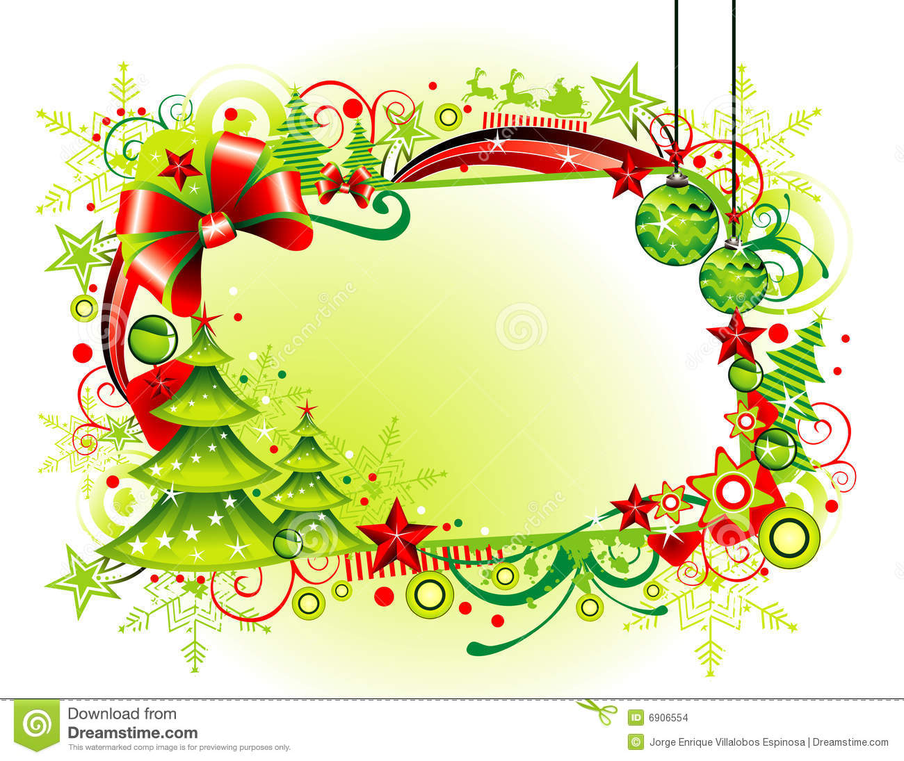 christmas banner stock vector  image of abstract  style