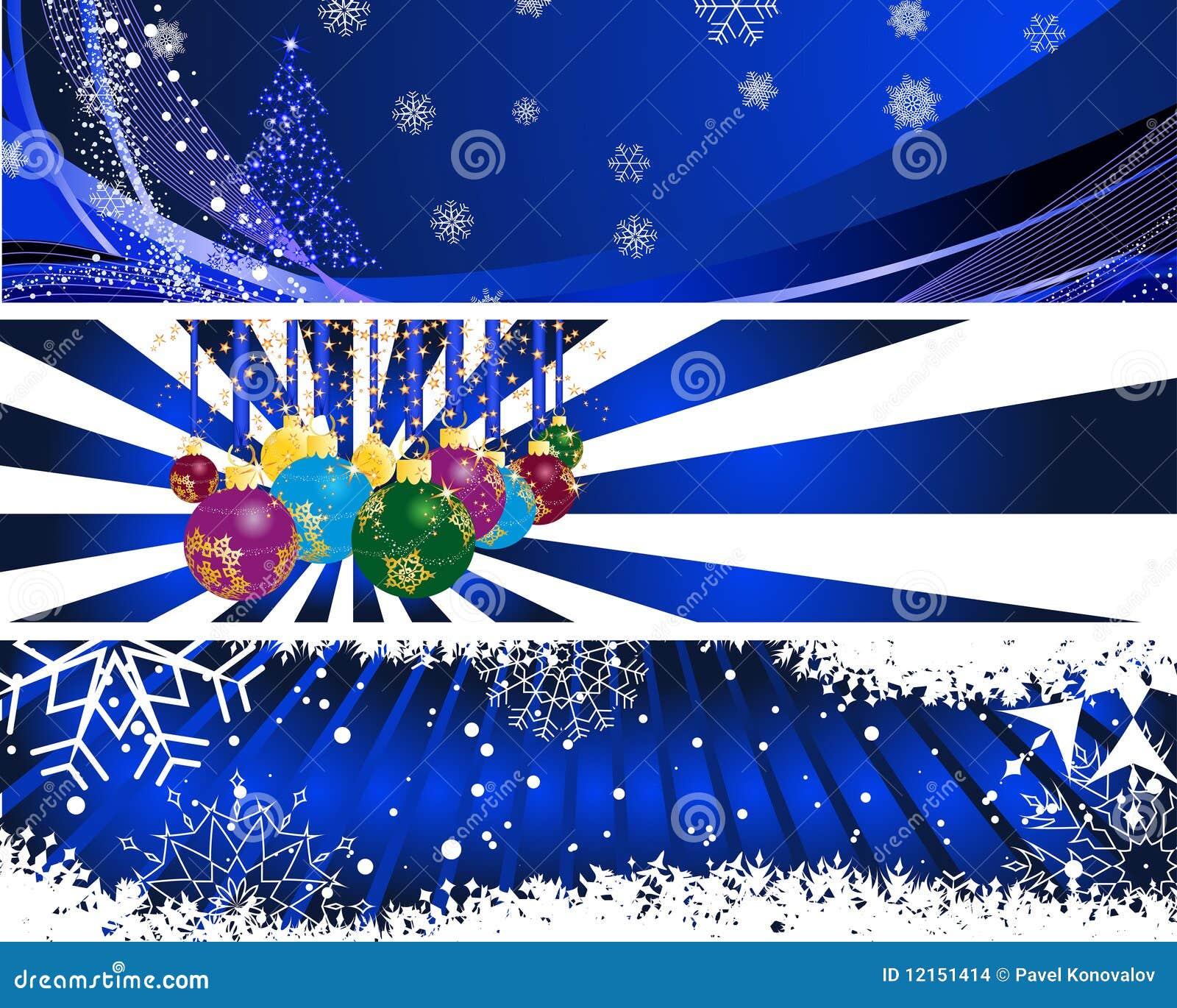 Баннеры для сайта к новому году