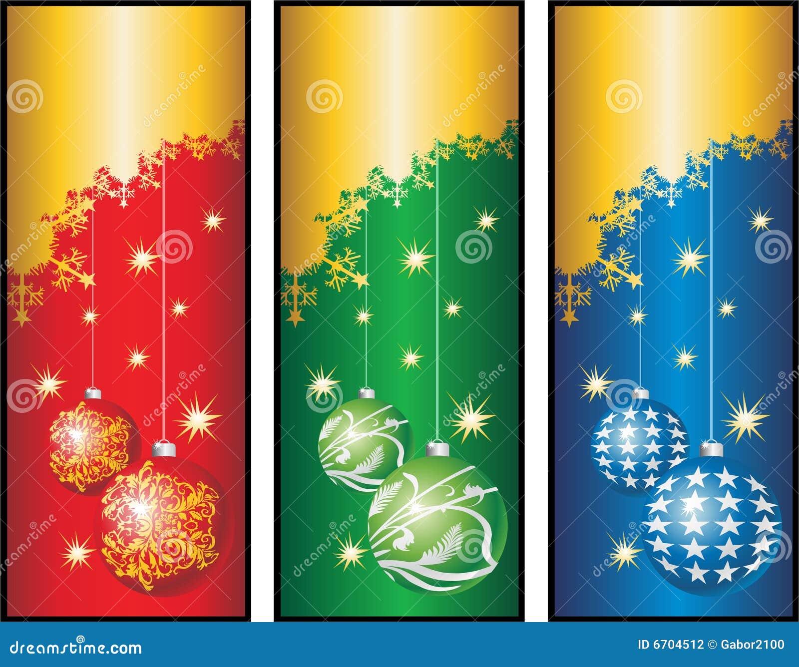 christmas banners cdr stock photography