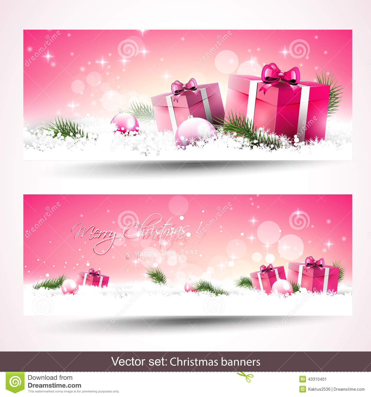 Download Christmas banners stock image. Image of children, celebration - 43310401