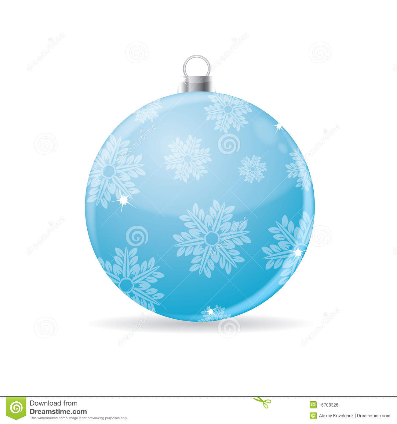Christmas bauble vector royalty free stock image image 16708326