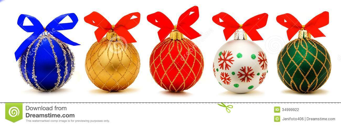 Christmas Baubles Stock Photography Image 34999922