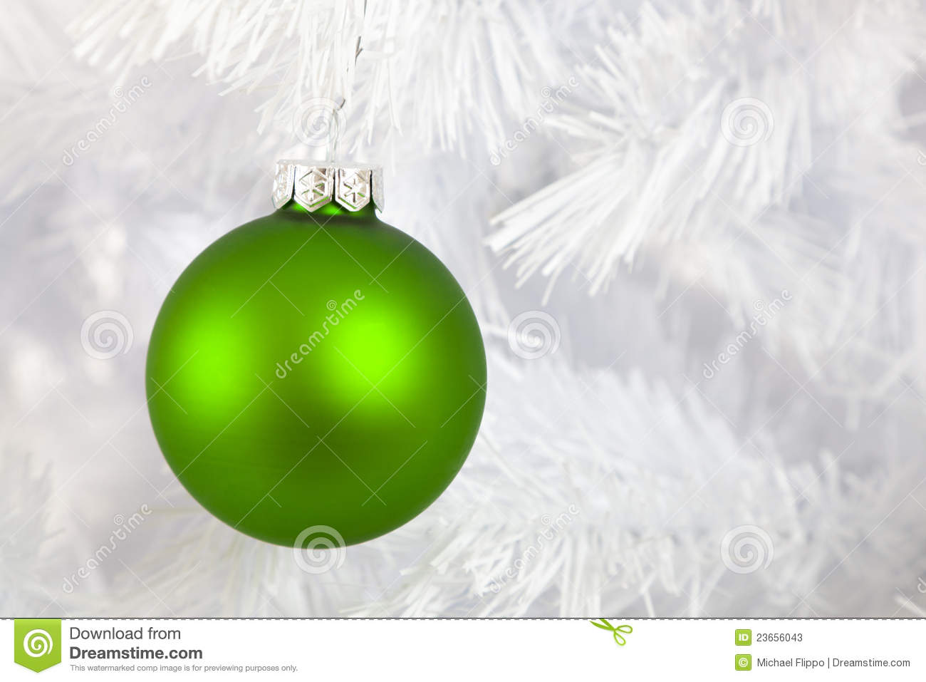 Christmas baubles on white background stock photos image for White christmas baubles