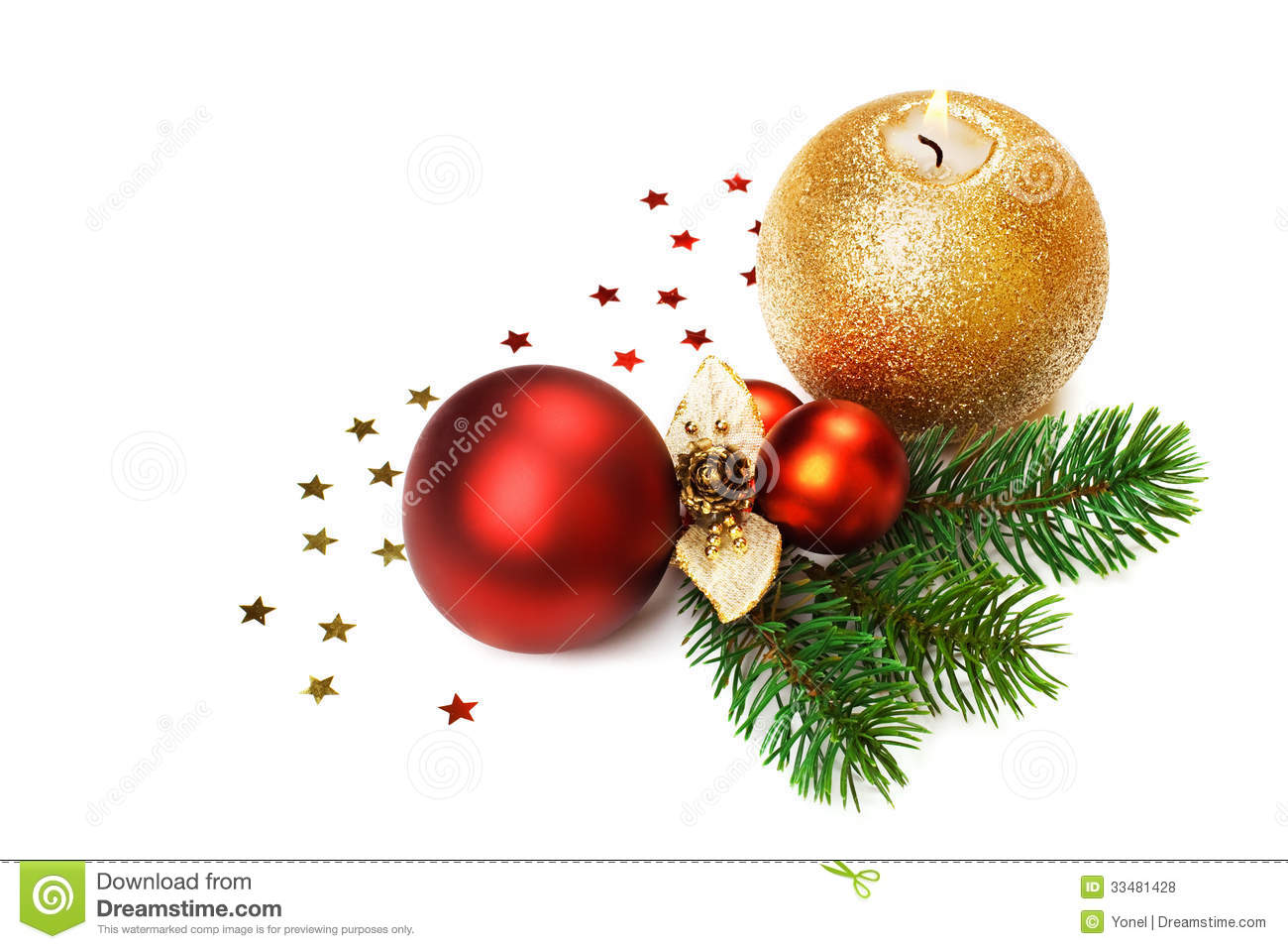 Christmas baubles on white background royalty free stock for White christmas baubles