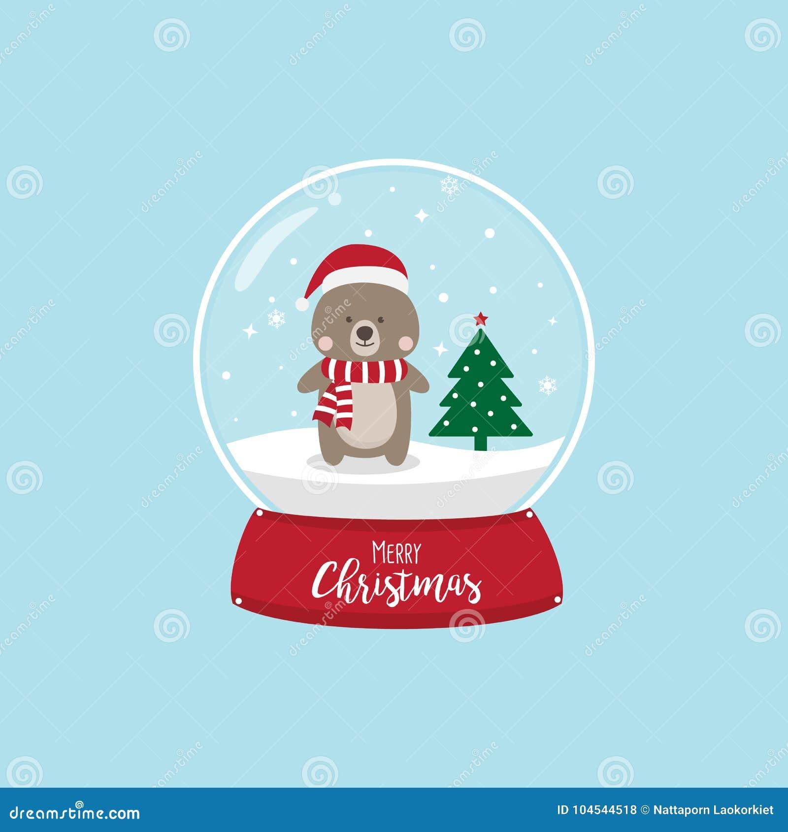 233c54703d1 Christmas Bear Cartoon Character