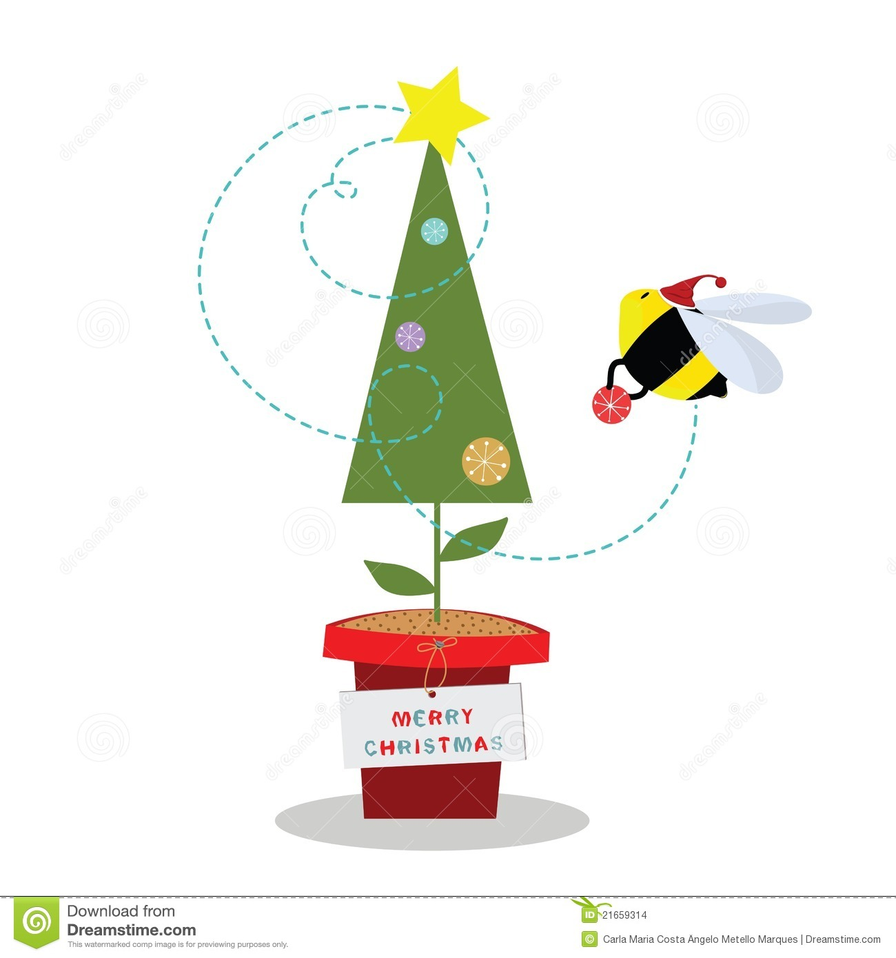 christmas bee stock images image 21659314 cute bee cartoon vector clipart cute bee vector