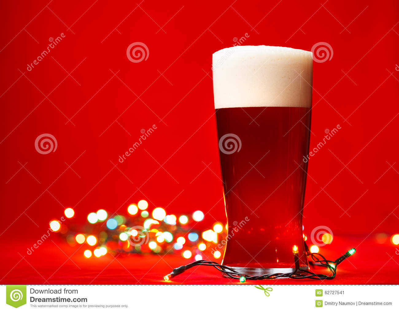 Christmas Beer Stock Image Image Of Noel Christmas