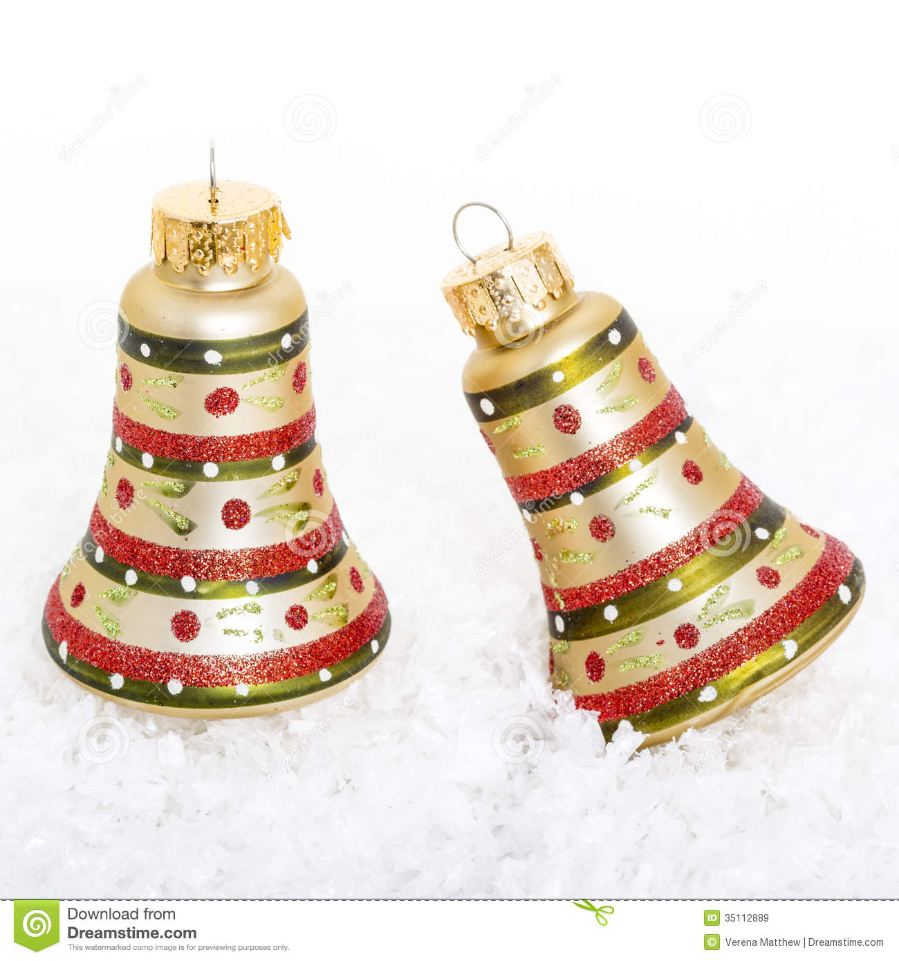 Bell christmas ornament - Christmas Bell Ornaments
