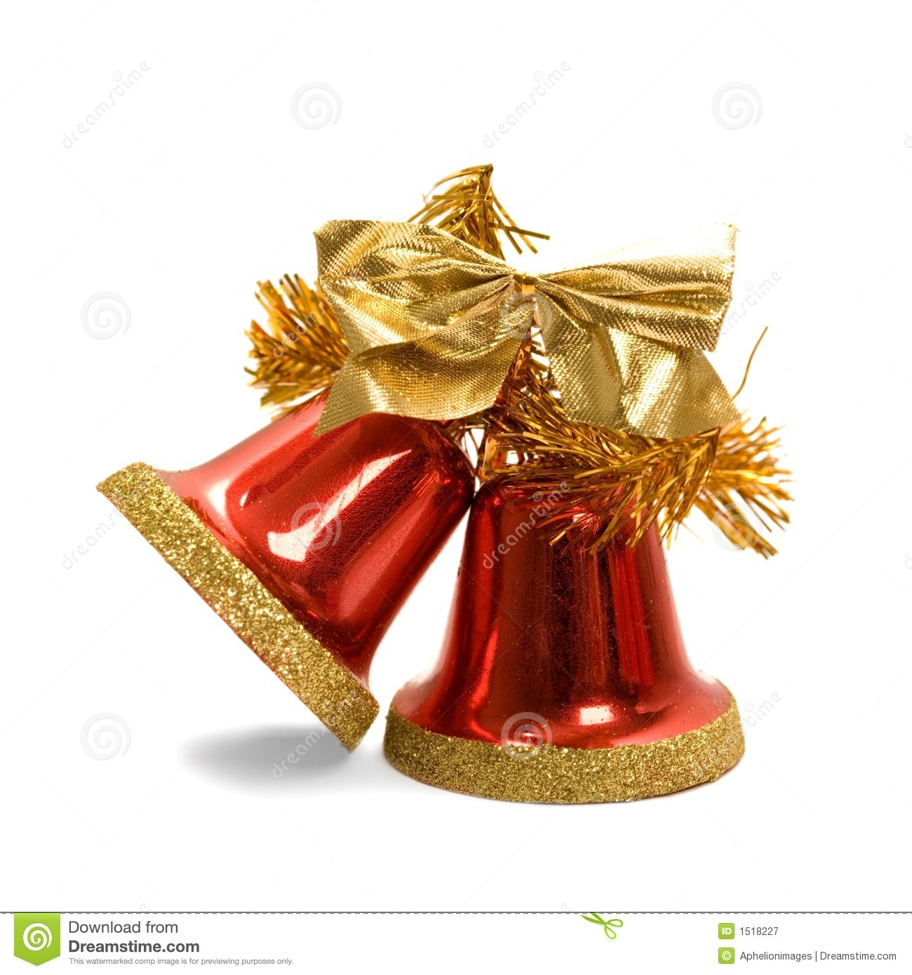 Christmas Bells Royalty Free Stock Photography Image
