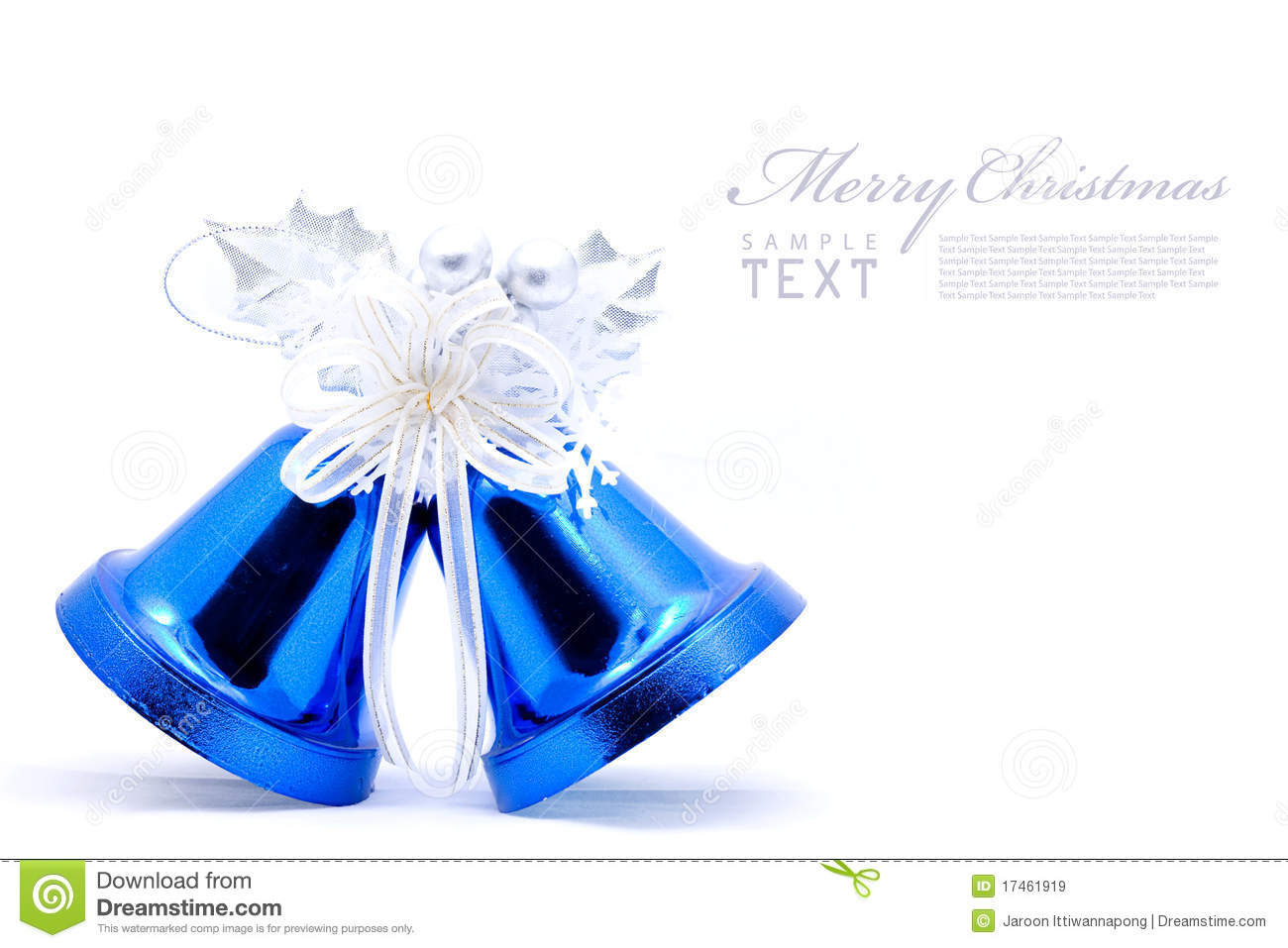 Christmas Bells Stock Image Image Of Bright Greeting