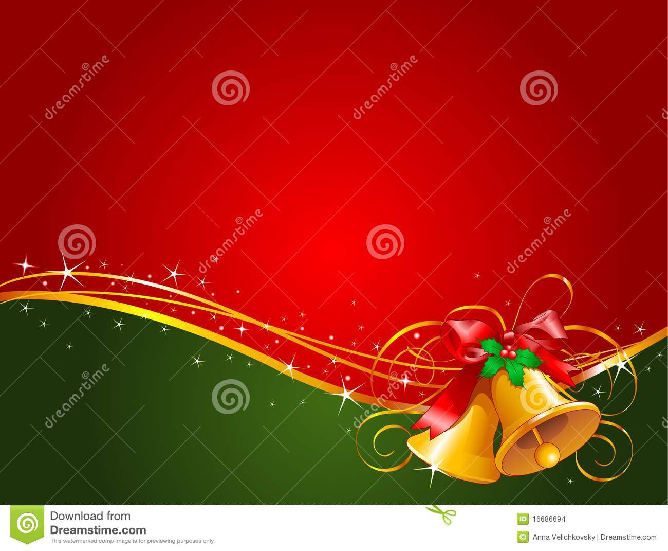 Christmas bells background stock images image