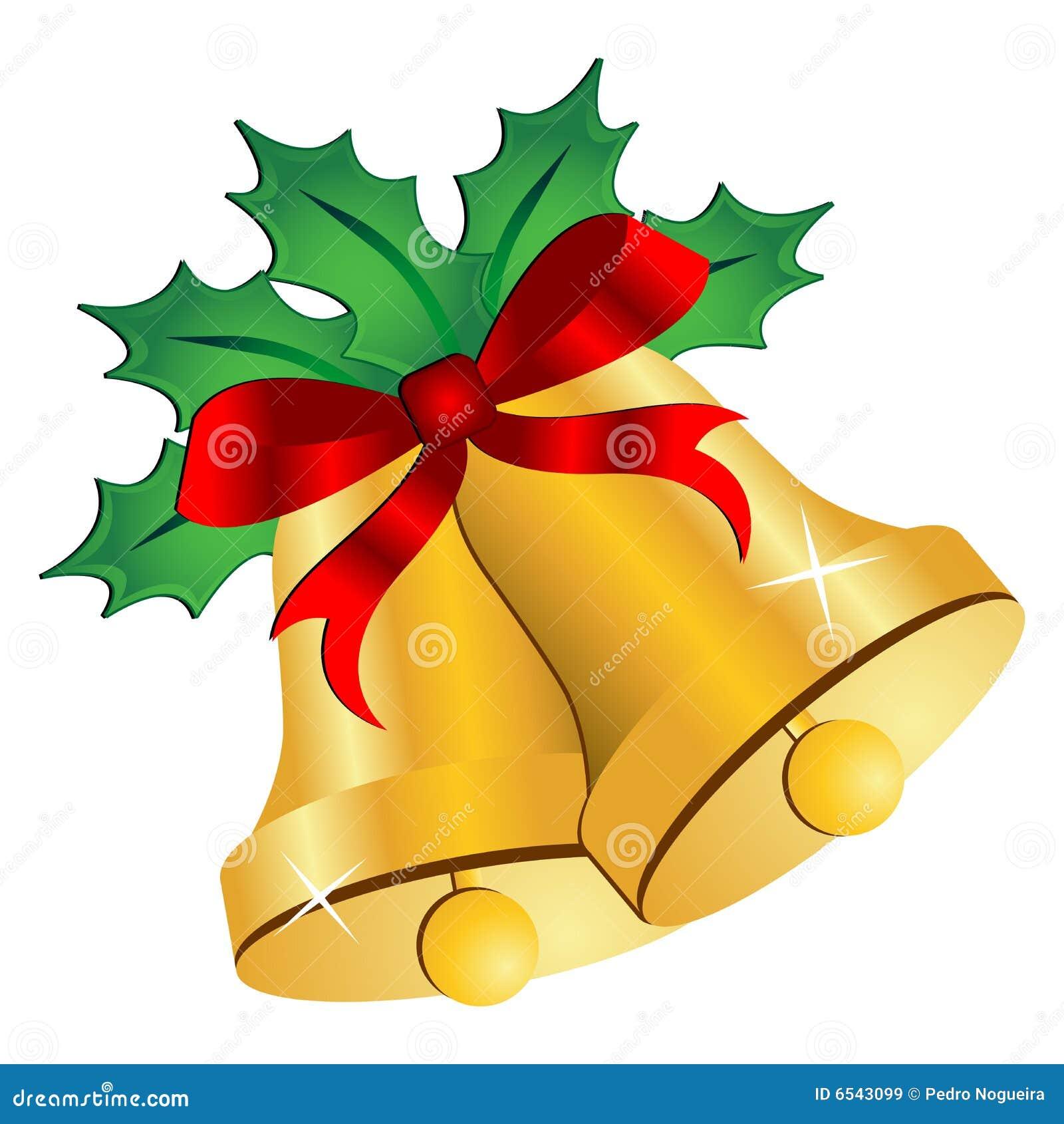 Cartoon christmas bells new calendar template site