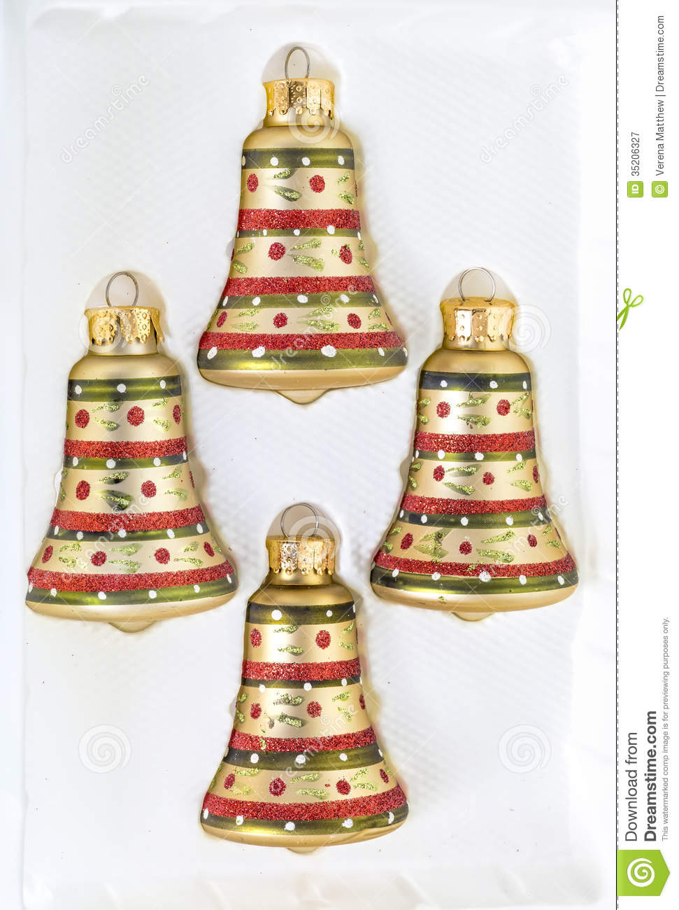 Christmas Bells Royalty Free Stock Photography - Image: 35206327