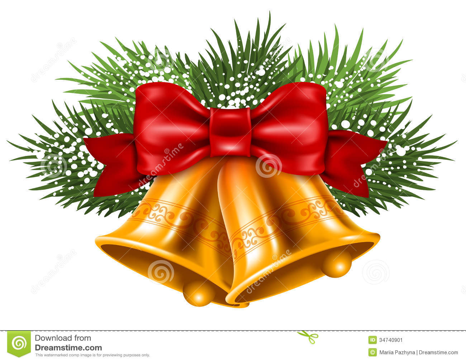 christmas bells stock vector image of object season. Black Bedroom Furniture Sets. Home Design Ideas