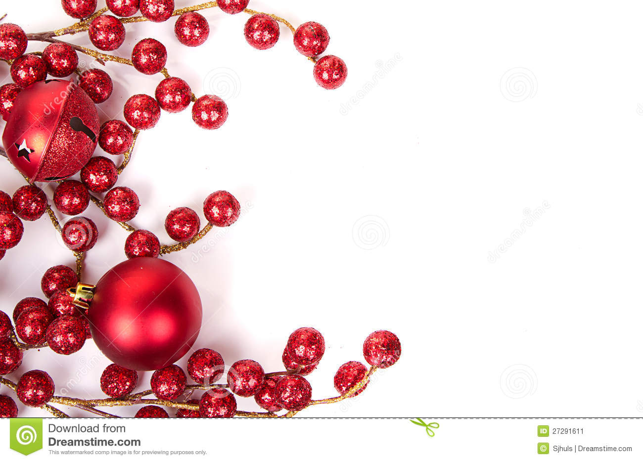 More similar stock images of christmas berries and ornaments