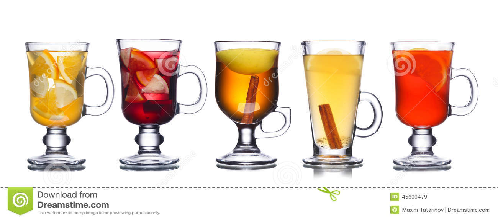 Christmas Beverages Stock Photo - Image: 45600479