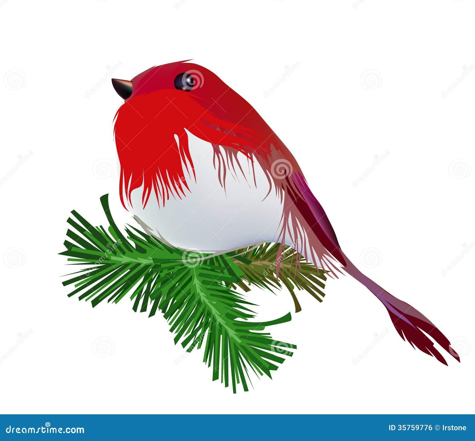 Christmas bird robin stock vector illustration of effect 35759776 christmas bird robin buycottarizona Gallery