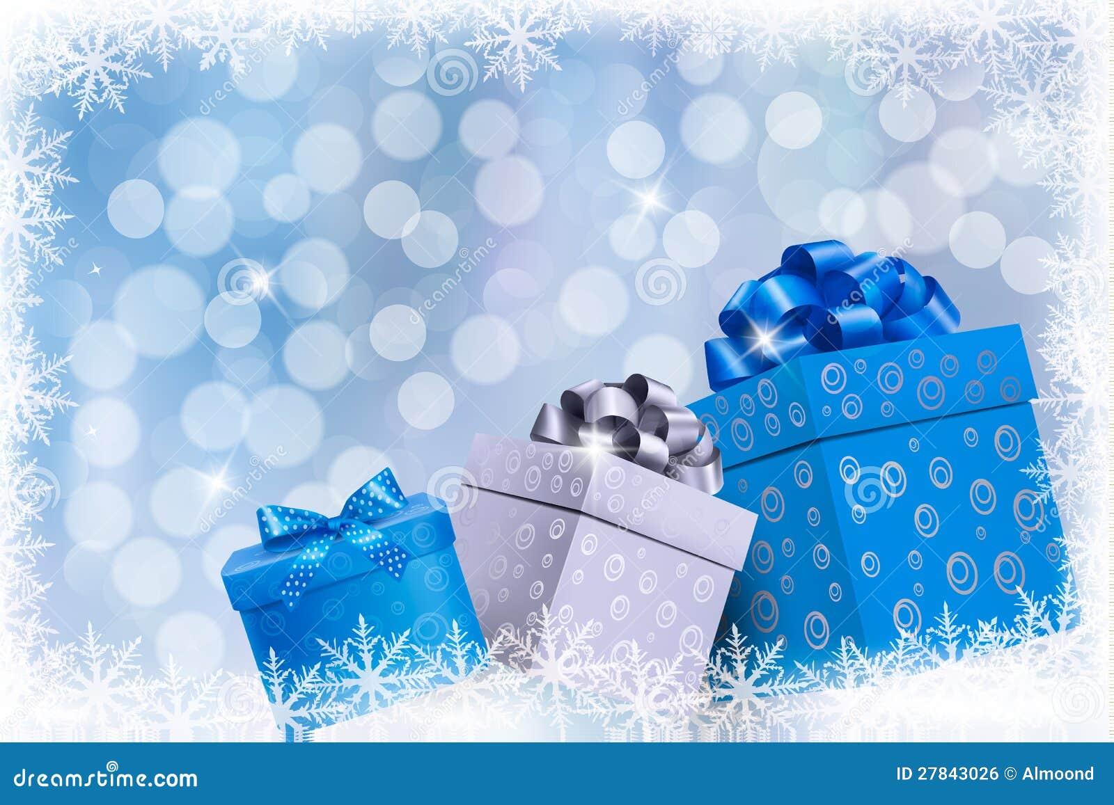 christmas blue background - Christmas Blue