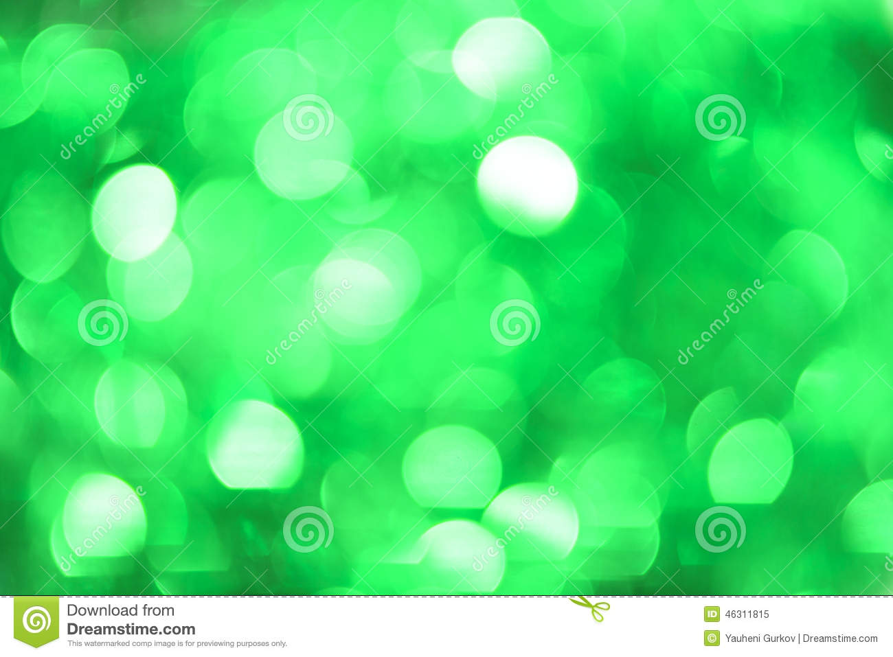 Mint Green Color christmas bokeh background: mint green. stock image. stock photo