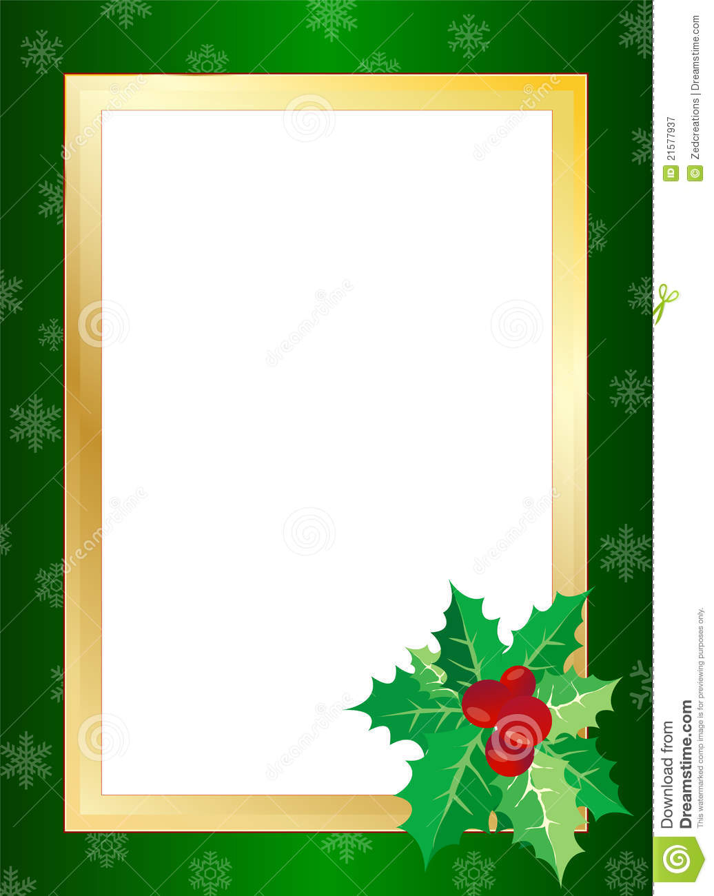 Christmas Border Royalty Free Stock Photography - Image: 21577937
