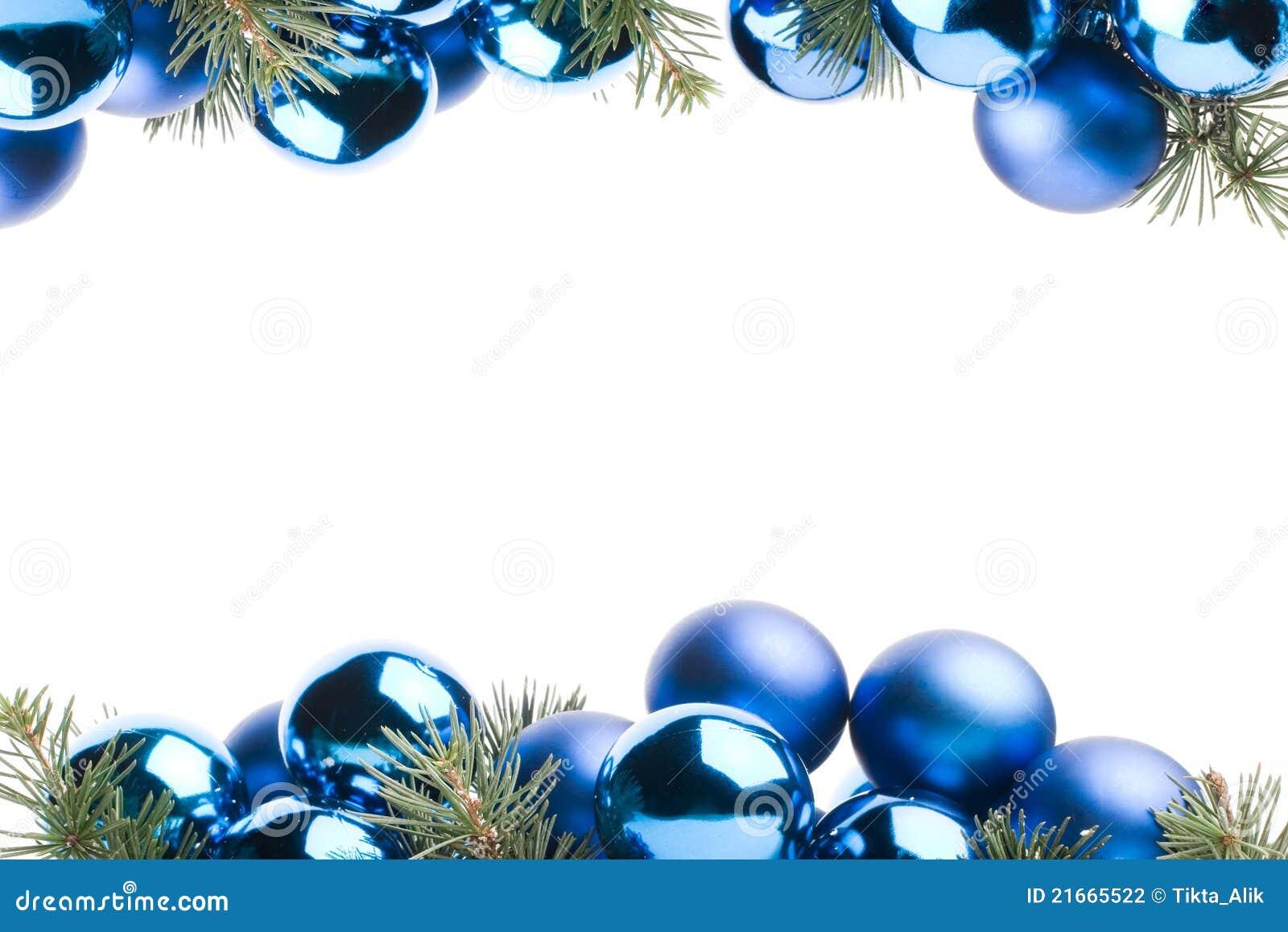 christmas border - Christmas Blue