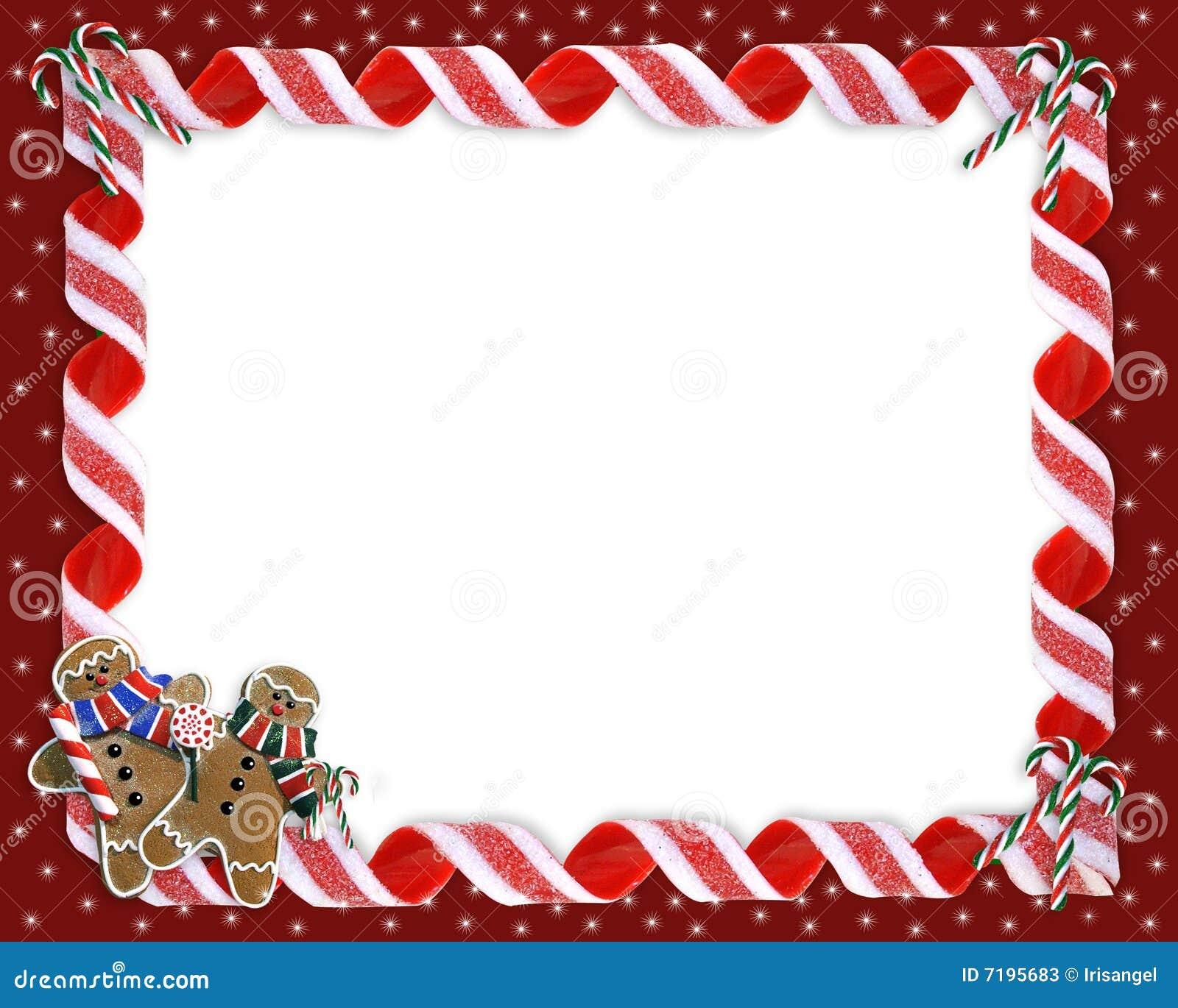 free christmas cookie borders clip art - photo #26