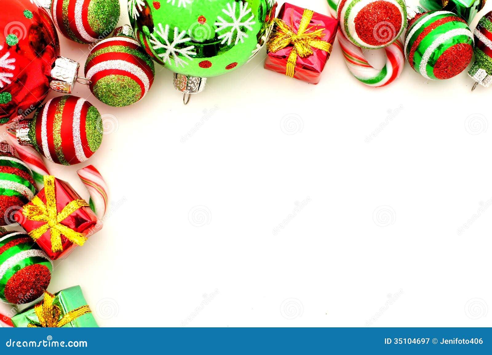 Christmas Toys Border : Christmas border stock image of arrangement corner