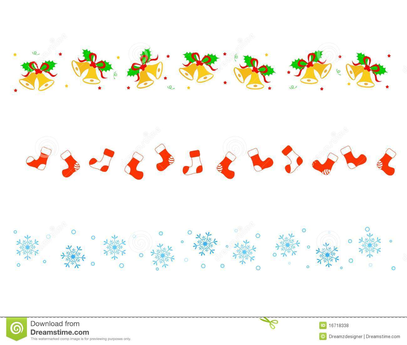 Christmas Border/ Divider Royalty Free Stock Photos ...