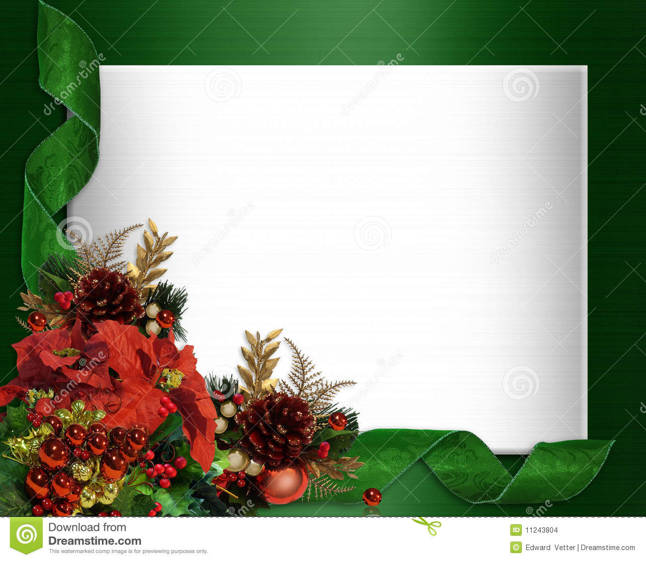 download christmas border elegant stock illustration illustration of decoration 11243804