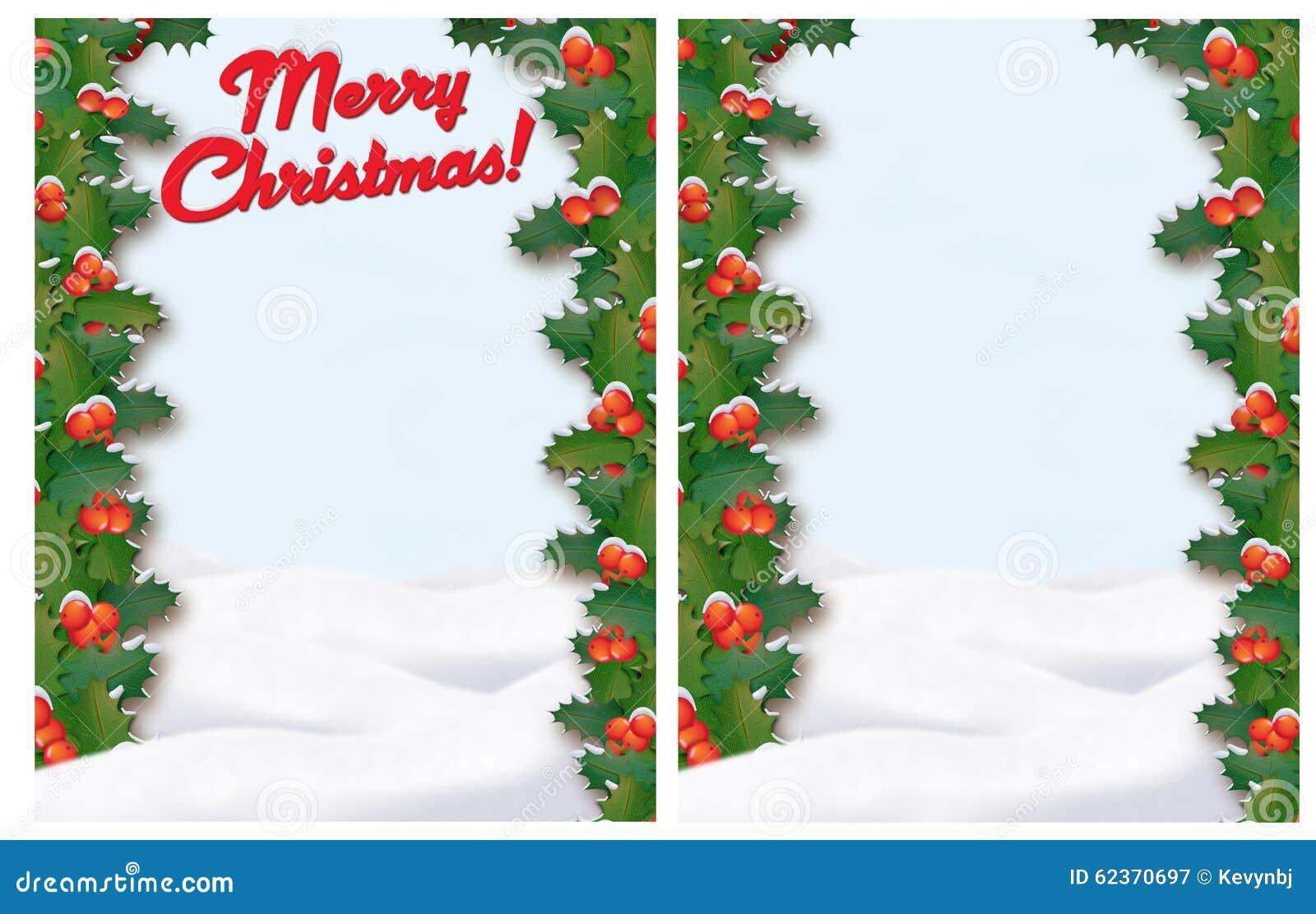 Christmas Letter Border.Christmas Border Stock Illustration Illustration Of Letter