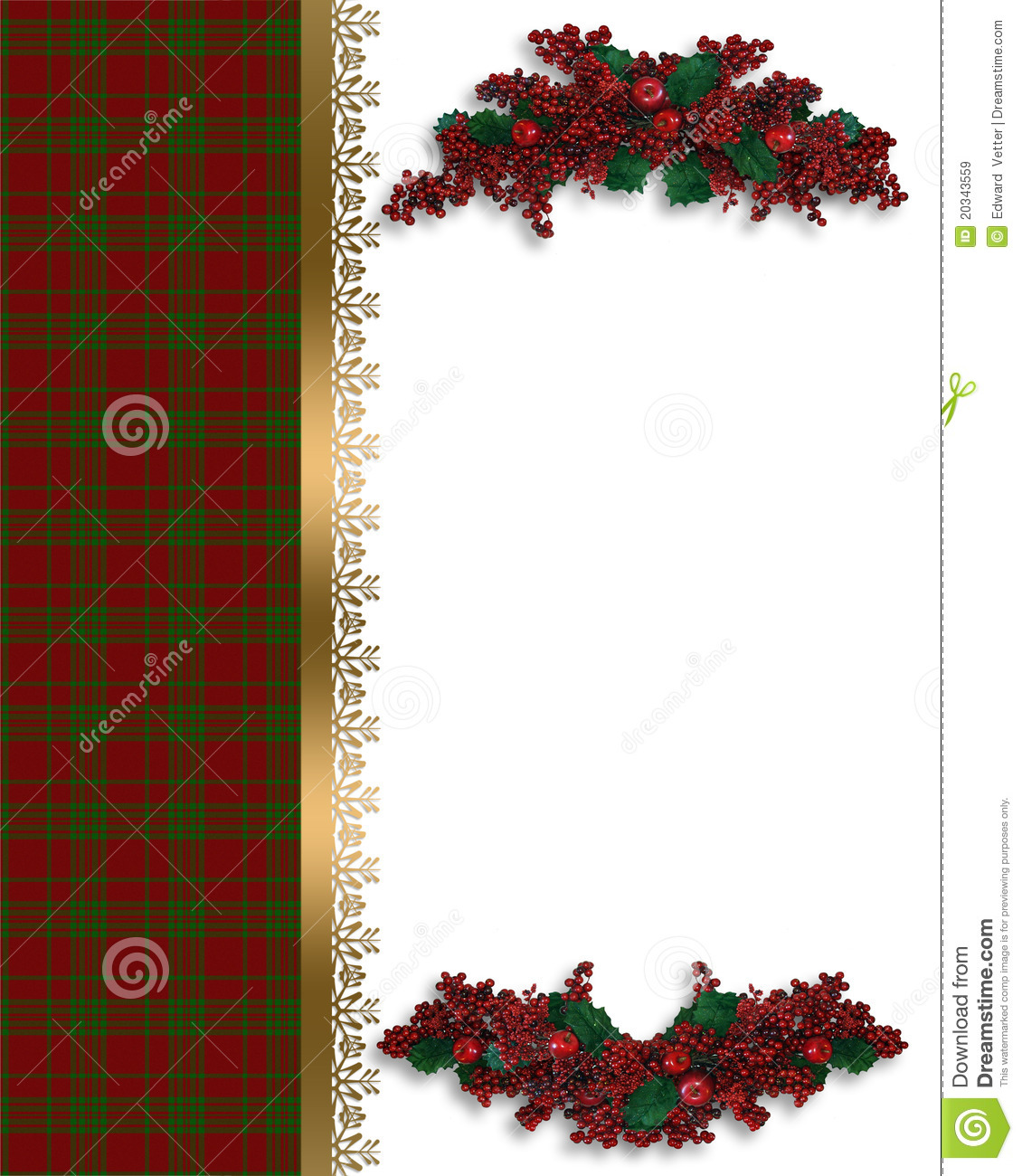 christmas-border-red-plaid-20343559 Xmas Letter Template on sample request, basic cover, sample business,