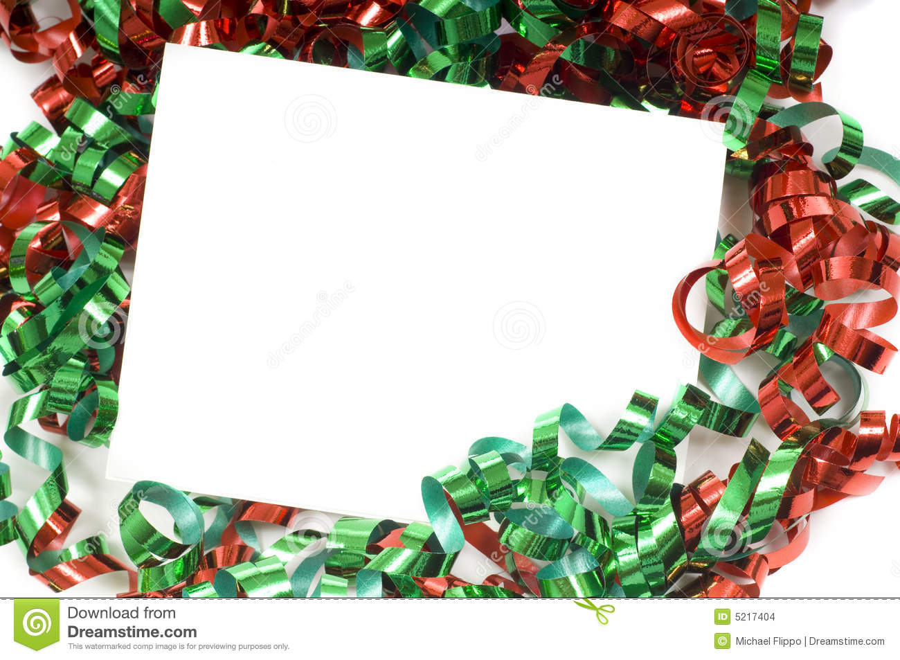 Christmas Bow Notecard