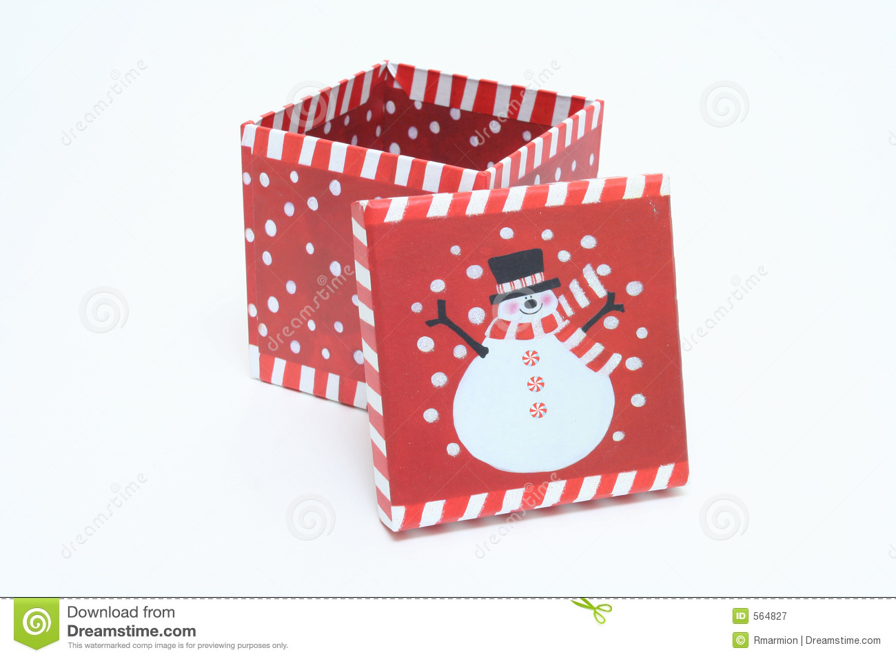 Delightful Christmas Box Decorations Part - 1: Royalty-Free Stock Photo. Download Christmas Box Decorations ...