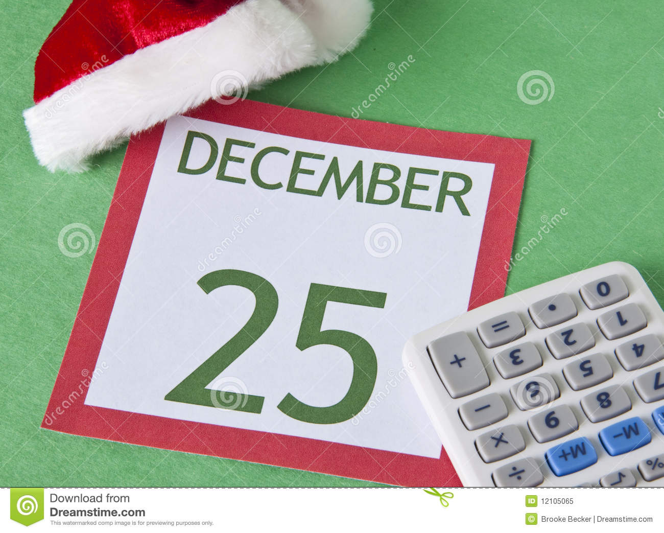 christmas on a budget stock image image of spend finances 12105065