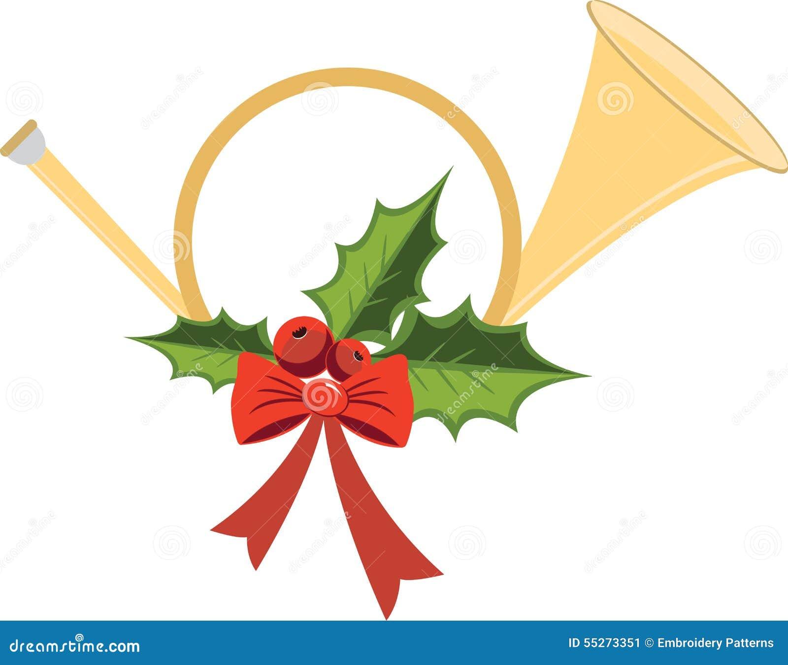 Stock Image: Christmas Bugle. Image: 55273351